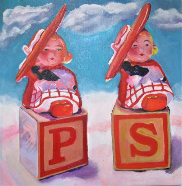 Salt and Pepper Girls AFloating